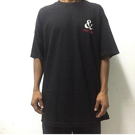 Camiseta Chocolate Preta XL