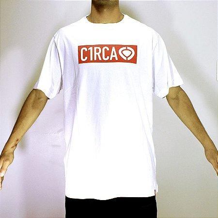 Camiseta C1RCA Label Logo  Branca