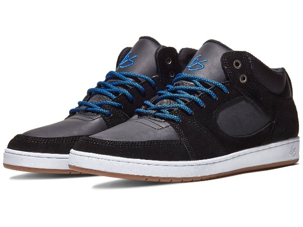 Es Accel Slim Mid Black Royal Tam. 38