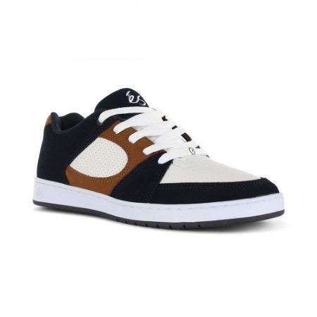 eS Accel Slim Navy Tan White