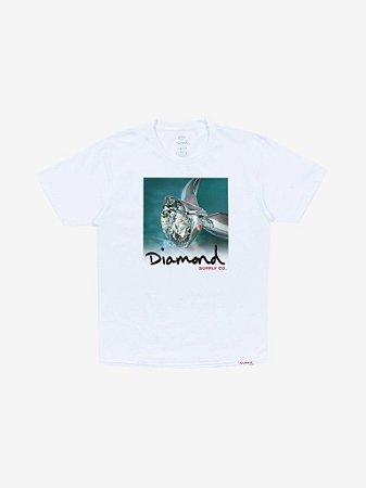 SHIMMER TEE - WHITE - TAM. G