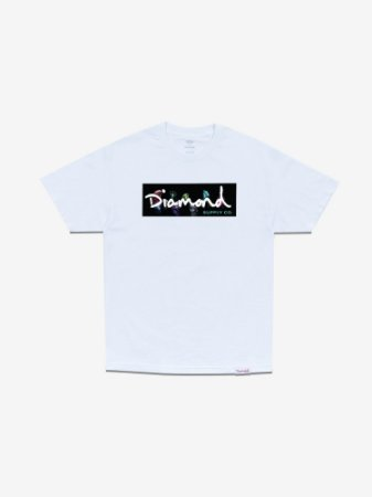 COLORS BOX LOGO TEE - WHITE - TAM. G