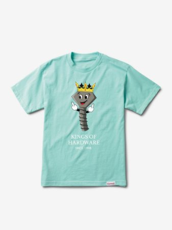 KINGS OF HARDWARE TEE - DIAMOND BLUE - TAM. G