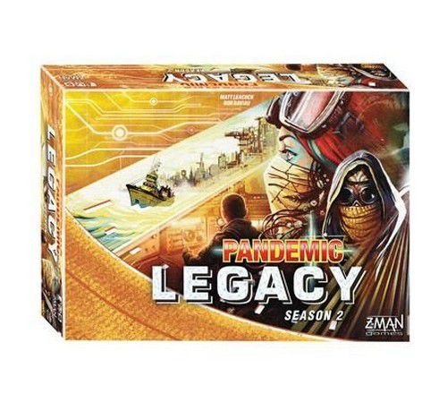 Pandemic Legacy 2ª Temporada: Yellow Edition