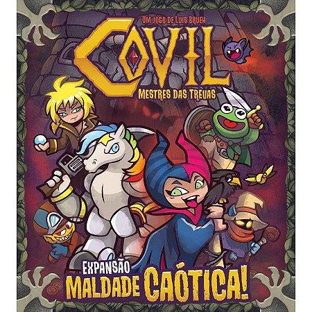 Covil: Mestre das Trevas - Expansão Maldade Caótica