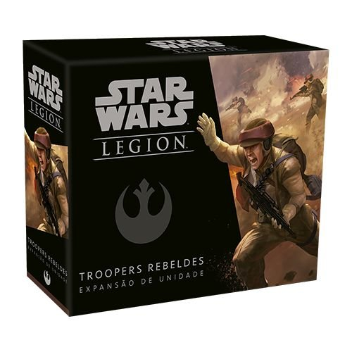 Troopers Rebeldes - Expansão Star Wars Legion
