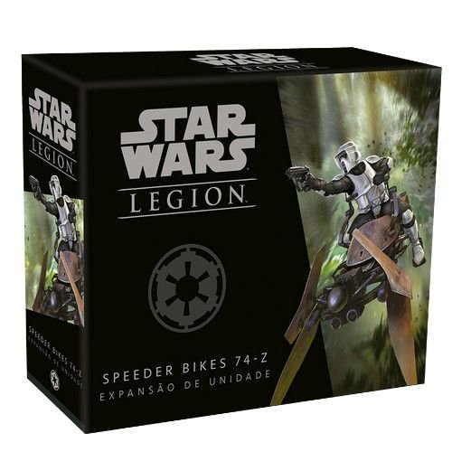 Speeder Bikes 74-Z: Expansão Star Wars Legion