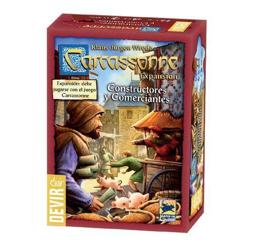 Carcassonne - Construtores e comerciantes