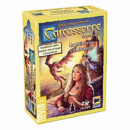Carcassonne - A Princesa e o Dragão