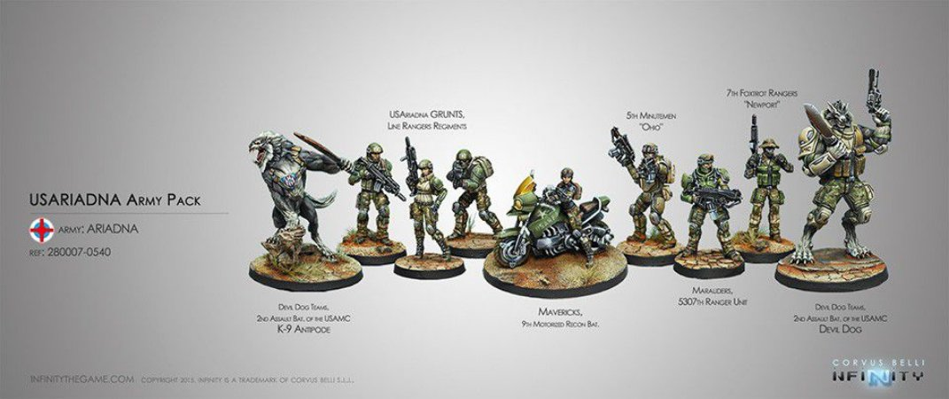 Ariadna Sectorial Army Pack