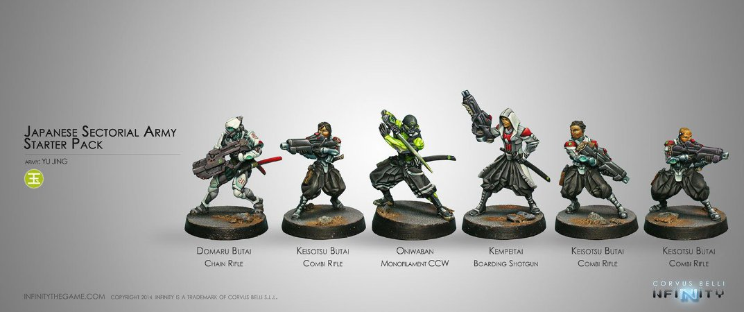 Japanese Sectorial Army Starter Pack - Yu Jing