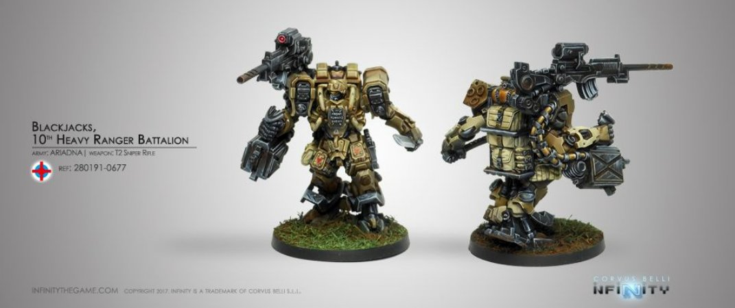 Blackjacks 10th Heavy Ranger Batallion - Ariadna