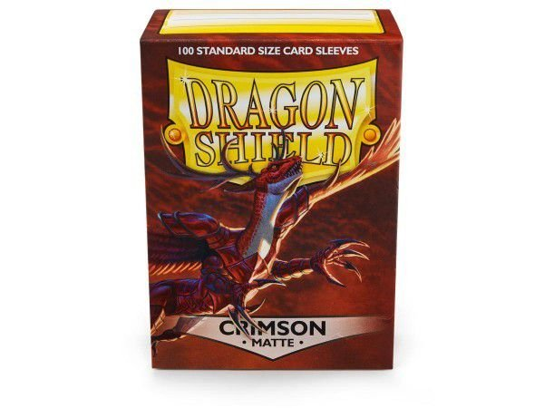 Dragon Shield - Crimson Matte