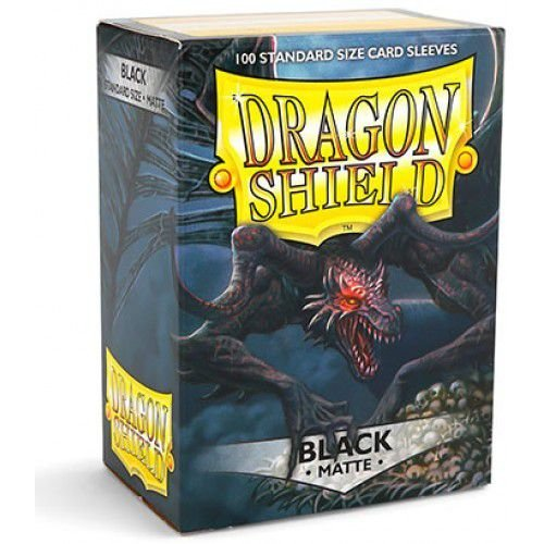 Dragon Shield - Black Matte