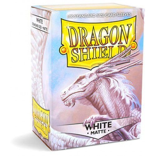 Dragon Shield - White Matte
