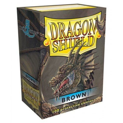 Dragon Shield - Brown Classic