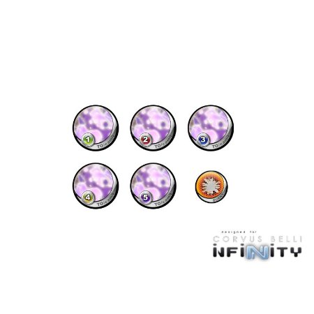 "Infinity Tokens TOCamo ""Purple"" (6)"