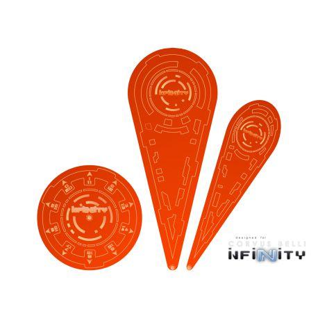 """Infinity Templates """"Orange"""" (3)"""