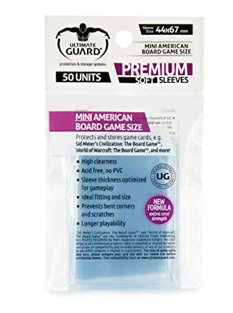 Ultimate Guard Premium Soft - Mini American