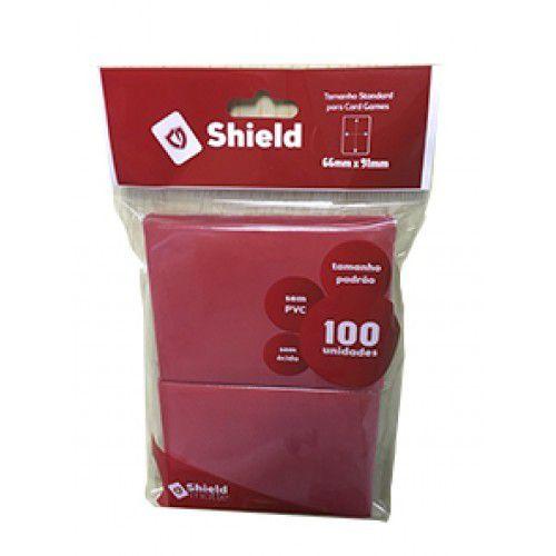 Central Shield - Matte Vermelho
