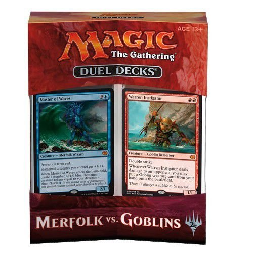 MTG Duel Deck - Merfolk vs Goblins