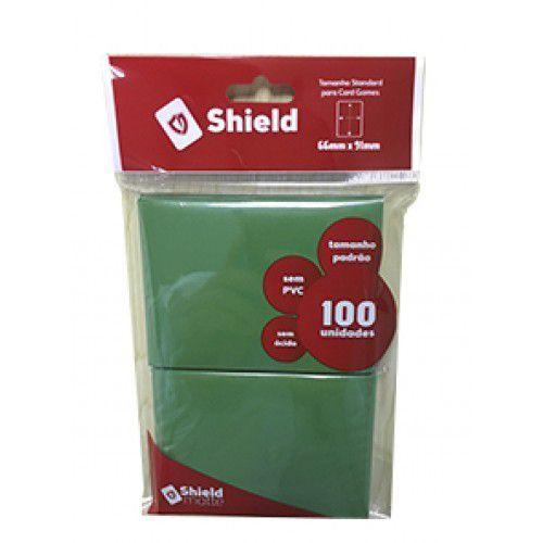 Central Shield - Matte Verde