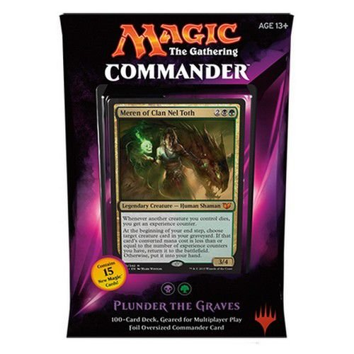 MTG Commander 2015 - Plunder the Graves