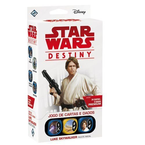 Star Wars Destiny: Pacote Inicial - Luke Skywalker