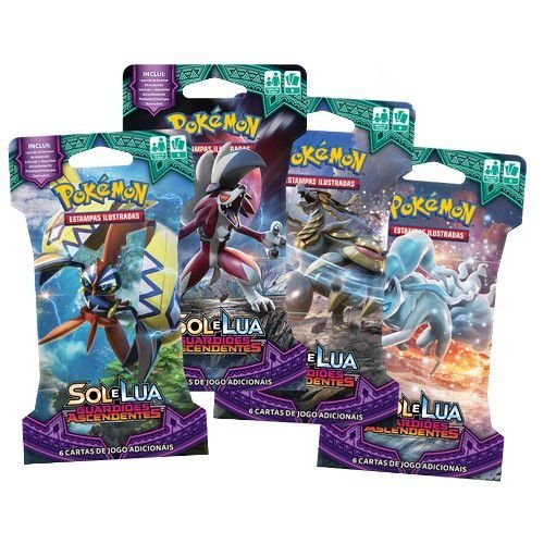 Booster Pokémon: Sol e Lua  - Guardiões AscendentesS (Blister)