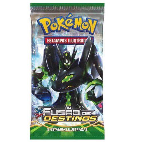 Booster Box Pokemon: XY - Fusão de Destinos