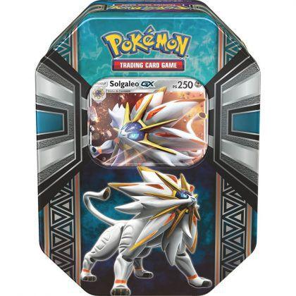 Pokémon Lata Lendas de Alola - Solgaleo GX