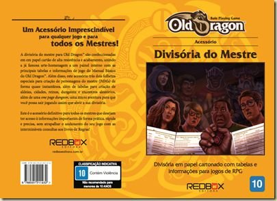Old Dragon - Divisória do Mestre