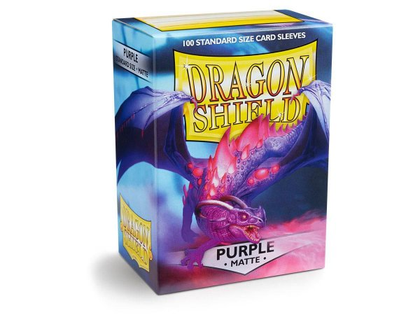 Dragon Shield - Purple Matte