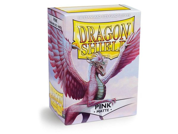 Dragon Shield - Pink Matte