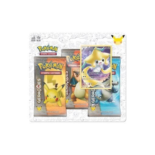 Blister Triplo Pokemon Míticos - Jirachi