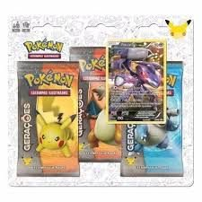 Blister Triplo Pokemon Míticos - Genesect