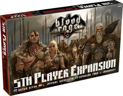 Expansão de 5 jogadores - Blood Rage