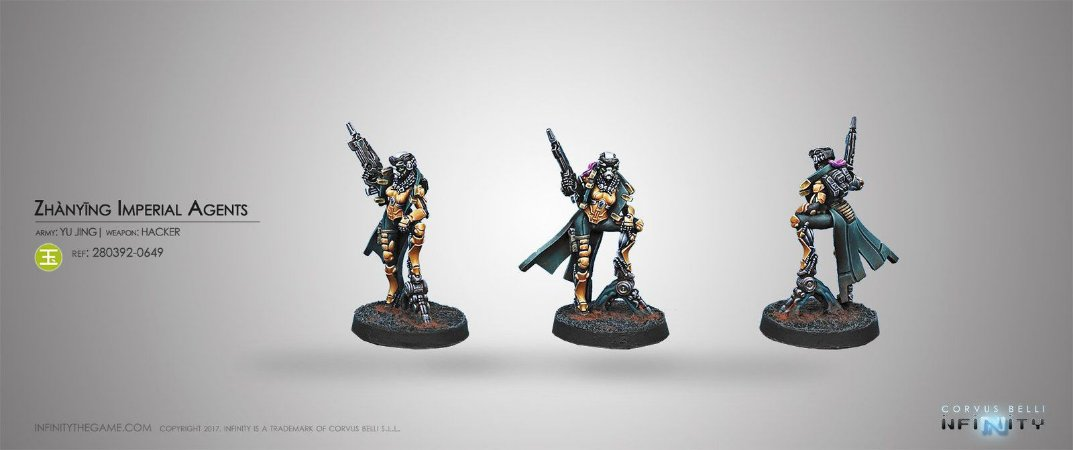 Zhanying Imperial Agents