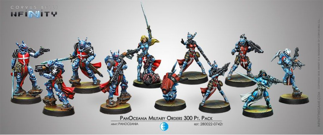 PanOceania Military Orders 300pt Pack
