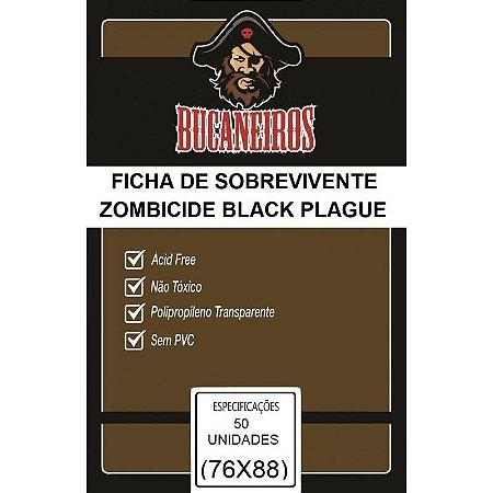 Bucaneiros Custom - Fichas de Sobreviventes Zombicide Black Plague