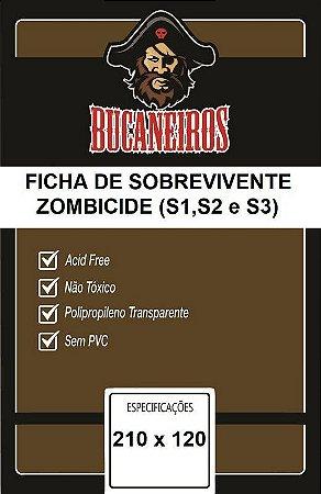 Bucaneiros Custom - Fichas de Sobreviventes Zombicide (S1, S2 e S3)