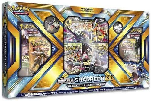 Pokémon Mega Sharpedo Ex