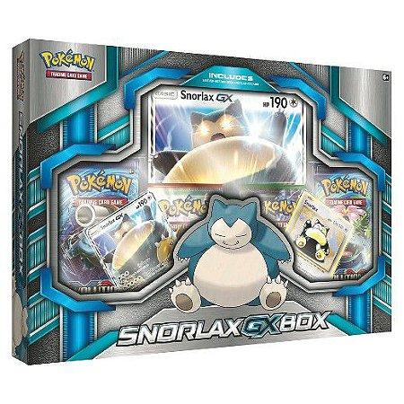 Pokémon Snorlax-Gx