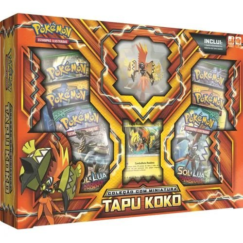Pokémon Coleção Miniatura - Tapu Koko