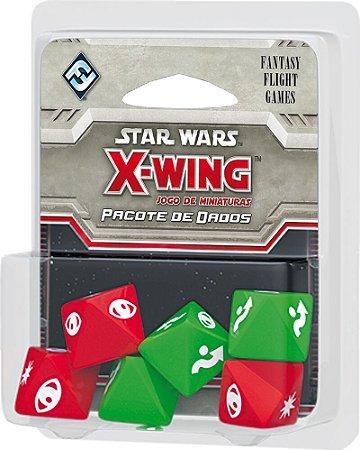 Pacote de Dados - Star Wars X-wing