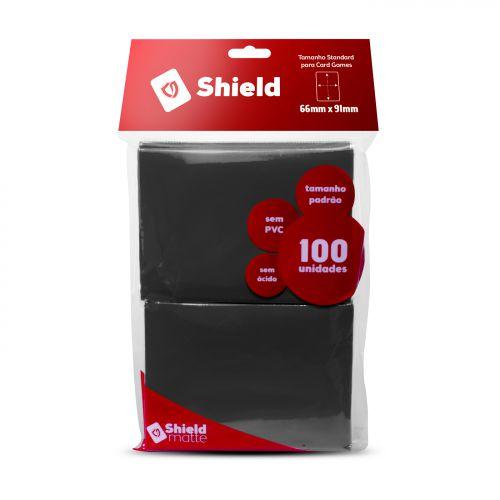 Central Shield - Matte Preto