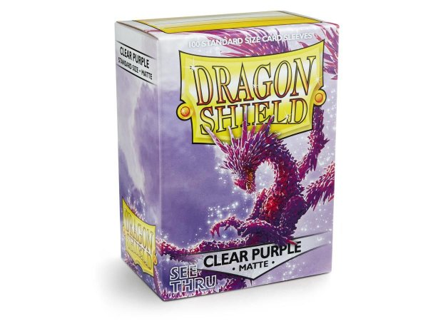 Dragon Shield - Clear Purple Matte