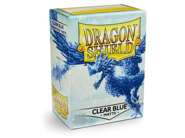 Dragon Shield - Clear Blue Matte