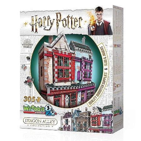 Harry Potter 3D: Artigos de Qualidade para Quadribol e Apotecário