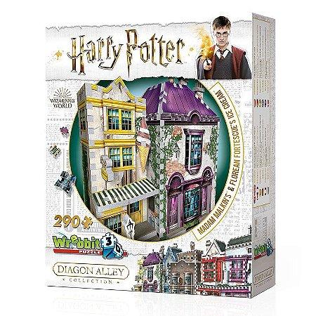 Harry Potter 3D: Madame Malkin e Sorveteria do Florean Fortescue